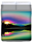 Mountain Reflections 2 Duvet Cover