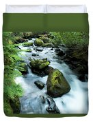 Mountain River Duvet Cover
