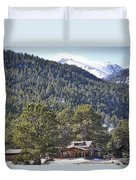 Mountain Scenery Duvet Cover