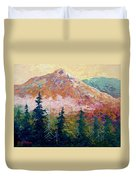Mountain Sentinel Duvet Cover
