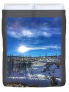 Mountain Shadows Duvet Cover