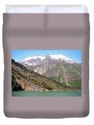 Mountain Slopes Duvet Cover