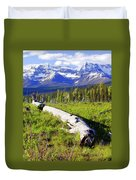 Mountain Splendor Duvet Cover