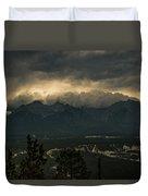 Mountain Storm Duvet Cover