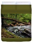Mountain Stream Iv Duvet Cover