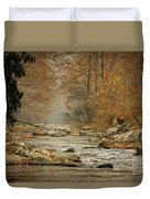 Mountain Stream With Tree Overhang #1 Duvet Cover