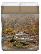 Mountain Stream With Vignette #2 Duvet Cover