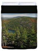 Mountain View, Acadia National Park Duvet Cover