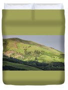 Mountain View From Gothic Road Duvet Cover