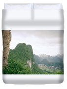 China Mountain View Duvet Cover
