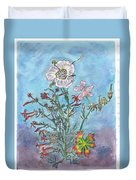 Mountain Wildflowers II Duvet Cover