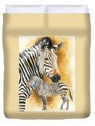 Mountain Zebra Duvet Cover