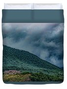 Mountains And Clouds 1350t Duvet Cover