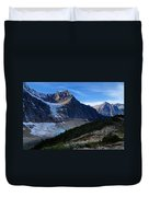 Mountains And Glaciers Duvet Cover