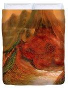 Mountains Fire Duvet Cover