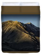 Mountains In Argentina Duvet Cover