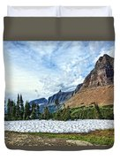 Mountains In Glacier National Park 2 Duvet Cover