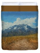Mountains In Puru Duvet Cover