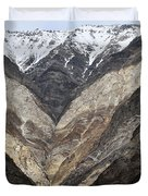 Mountains Of Ladakh Duvet Cover