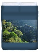 Mountains Of Lousa Duvet Cover
