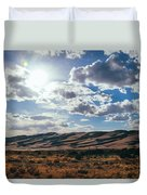 Mountains Of Sand Duvet Cover