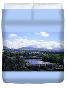 Mountains Of Wales Duvet Cover