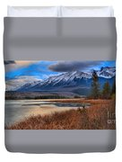 Mountains Over Talbot Duvet Cover