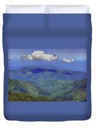 Mountains - Sky - Great Smokies Duvet Cover