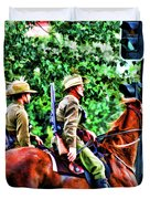 Mounted Infantry Duvet Cover
