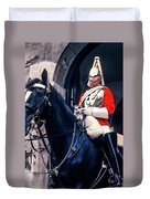 Mounted Life Guard Duvet Cover