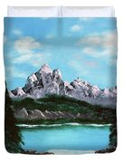 Mountian Waterfall Duvet Cover