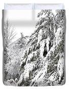 Mourn The Winter Duvet Cover