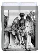 Mourning Angel Duvet Cover