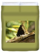 Mourning Cloak Butterfly Duvet Cover