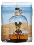 Mouse In A Bottle  Duvet Cover
