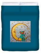 Mouse On The Moon Duvet Cover