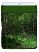 Mouth Of Pollly Hollow Duvet Cover