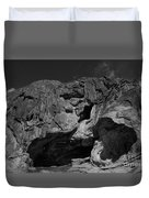 Mouth Of Rock Duvet Cover
