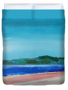 Mouth Of The River Exe Duvet Cover