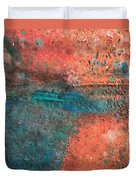 Movement Of Color II Duvet Cover