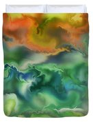 Movement Of The Natural World Duvet Cover