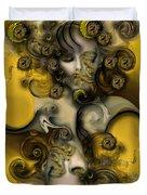 Movement With Venus Duvet Cover