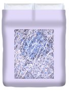 Moveonart Blue Cool Purifying Soul Duvet Cover