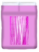 Moveonart Pink Dream Frequency Duvet Cover