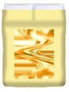 Moveonart They Say The Streets Are Paved With Gold Duvet Cover