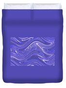 Moveonart Waves Of Blue For You 1 Duvet Cover