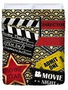 Movie Night-jp3613 Duvet Cover