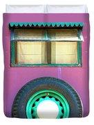 Movin On Palm Springs Duvet Cover