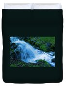 Moving Water Can Move Your Soul Duvet Cover