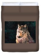 Moving Wolf Duvet Cover